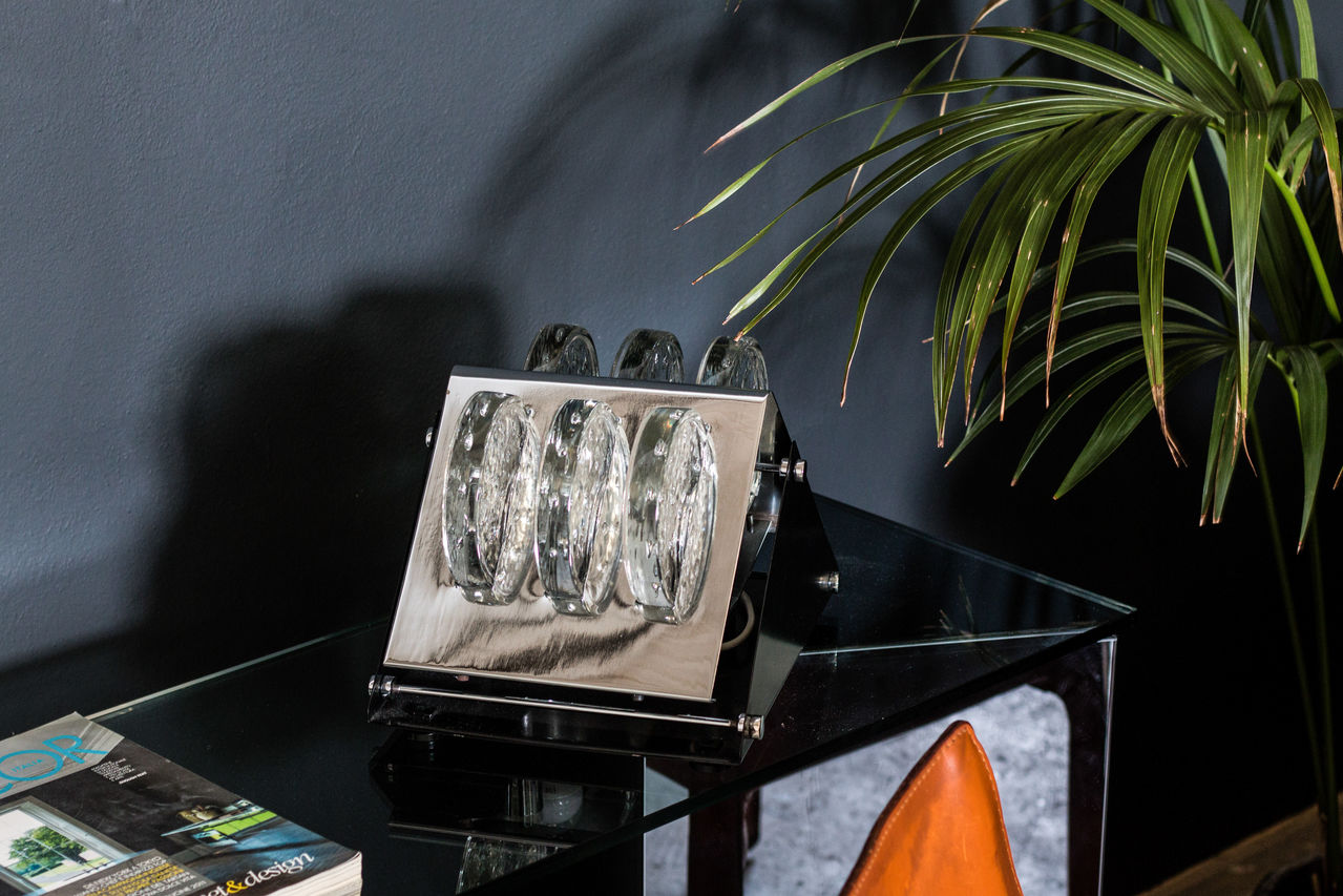 Table lamp by Fidenza Vetraria