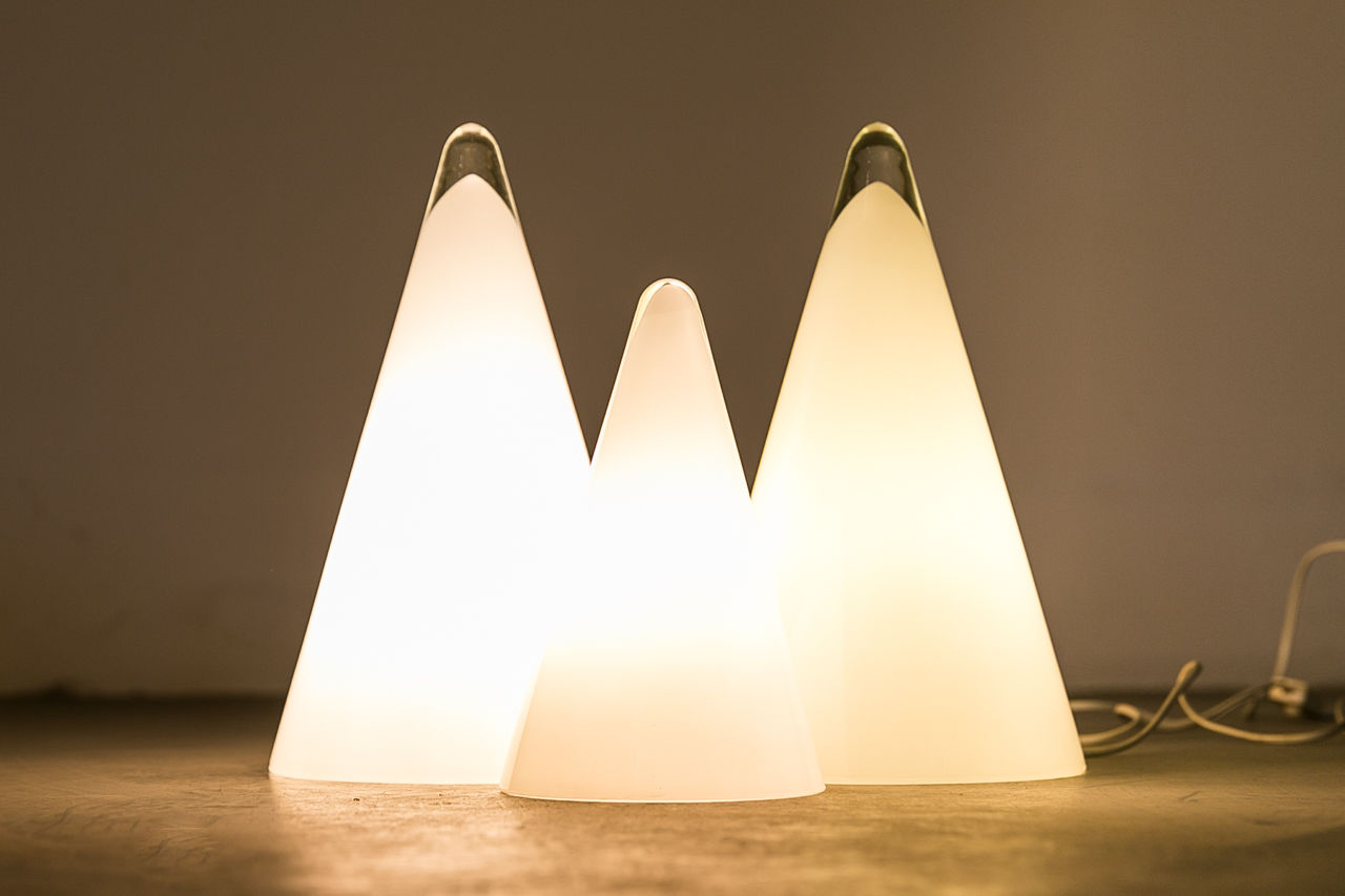 Teepee table light Circa 1970 France
