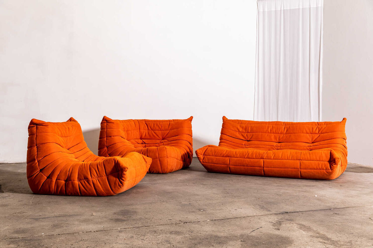 Togo large settee Choose your fabric