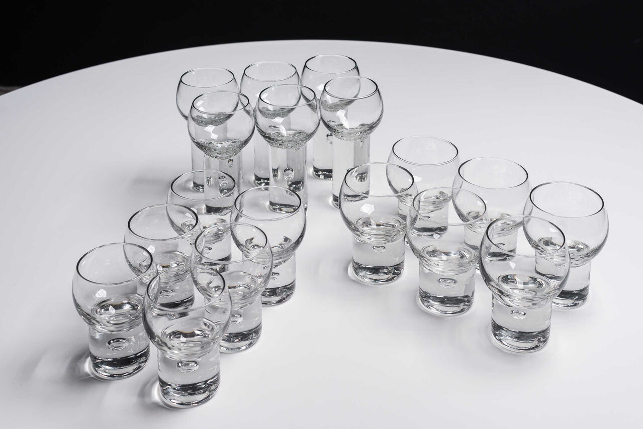 Vintage Highball glass set