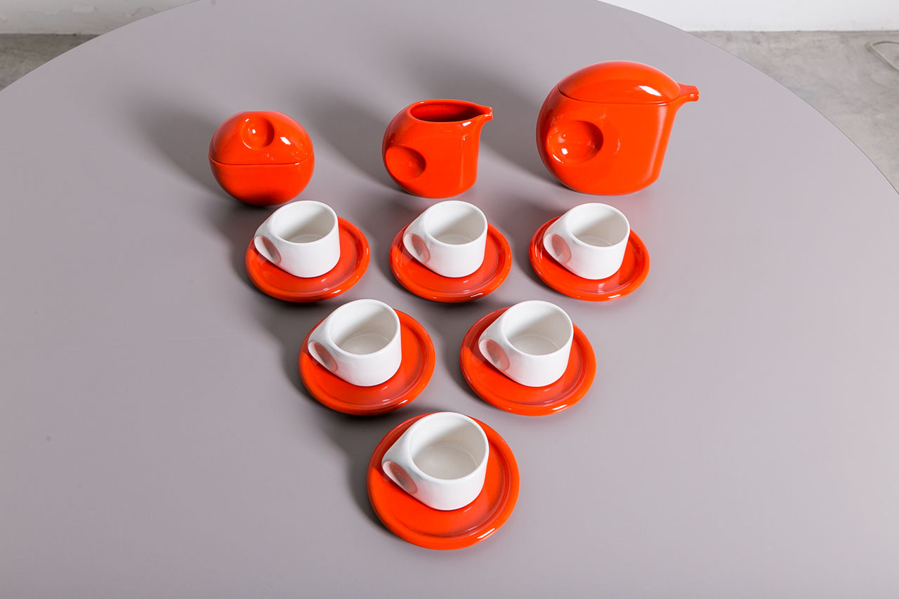 Vintage coffee set Circa 1970 Italy