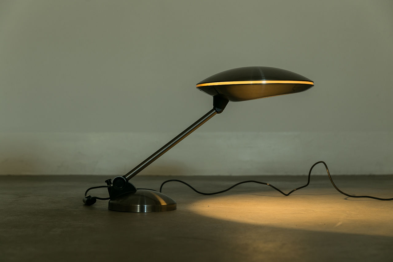 Vintage space age table lamp Circa 1970 Spain