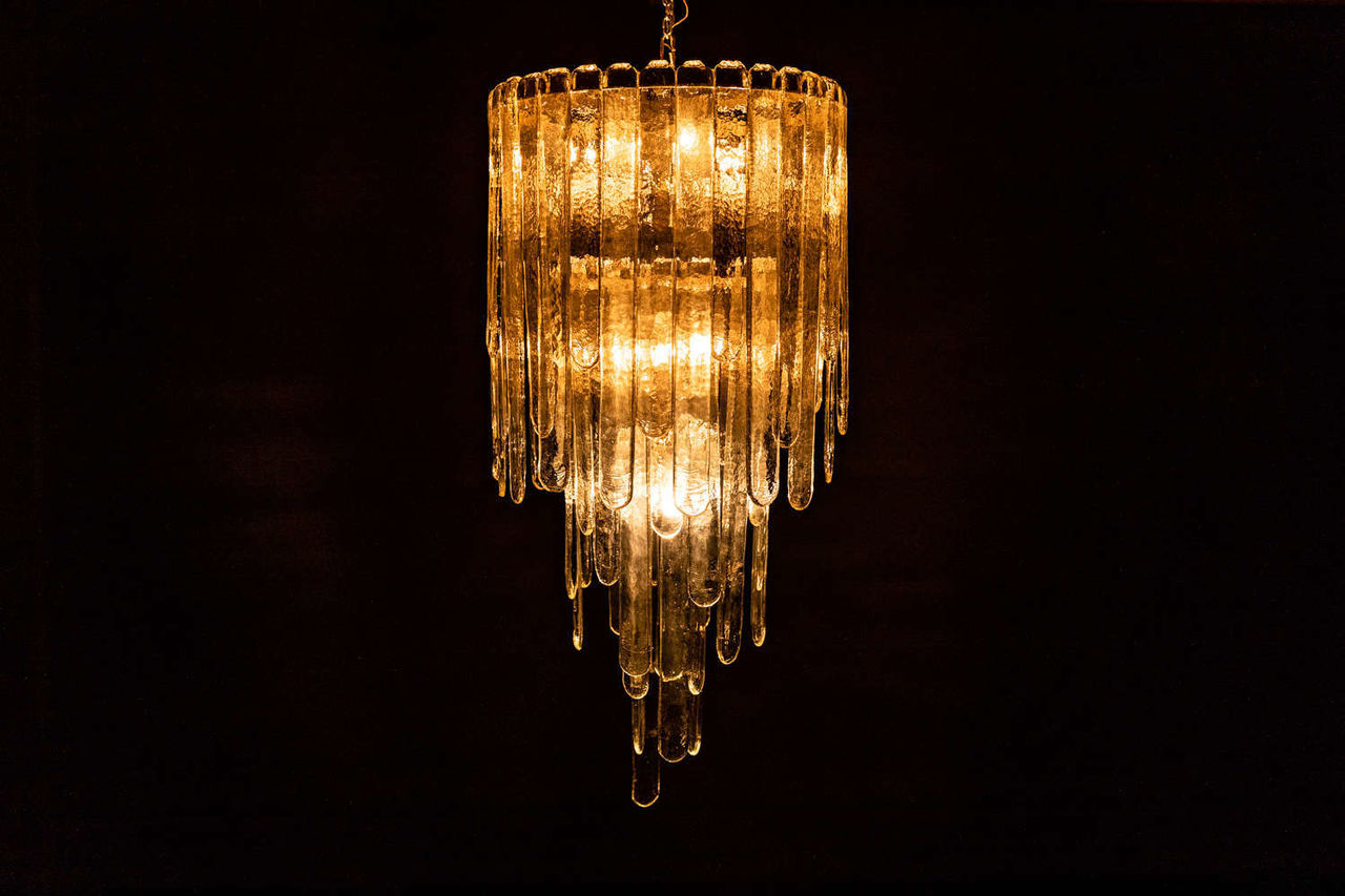 Waterfall Chandelier by Carlo Nason 1946